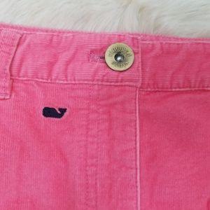 Vineyard Vines Skirts - Vineyard Vines Skirt 6 Womens Pink Corduroy Whale
